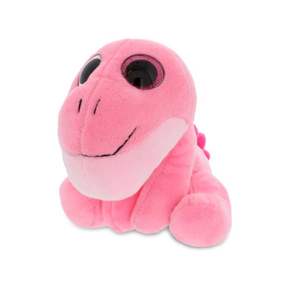 Sparkle Eyes Plush Small Pink Dinosaur Dollibu